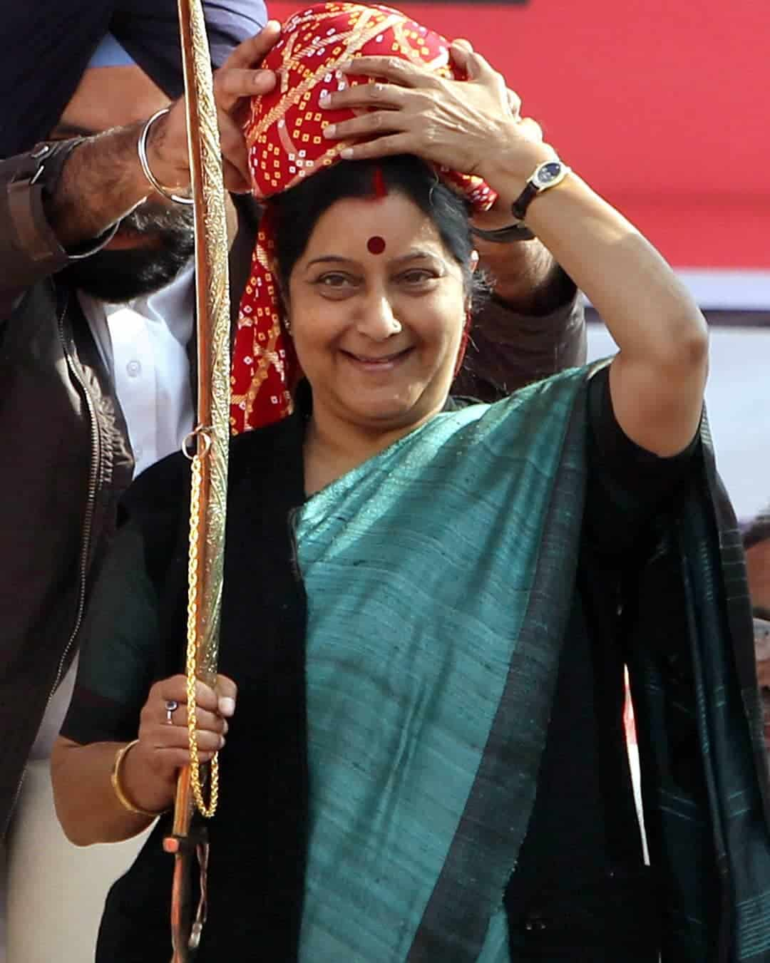 Sushma Swaraj  Wiki, Age, Biography, Husband, Net Worth & More 3