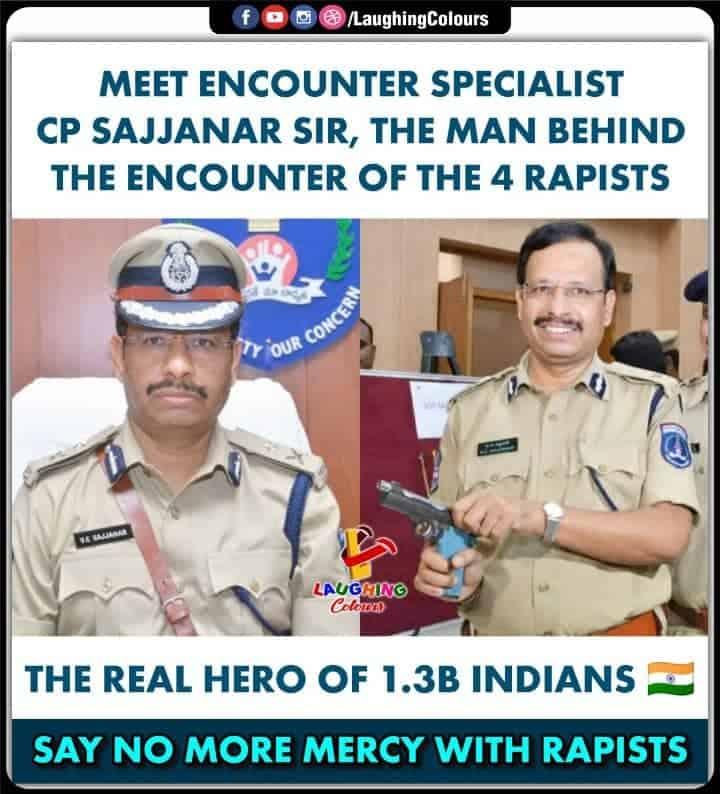 CP Sajjanar Sir - Vishwanath Sajjanar - V.C. Sajjanar Wiki & Information