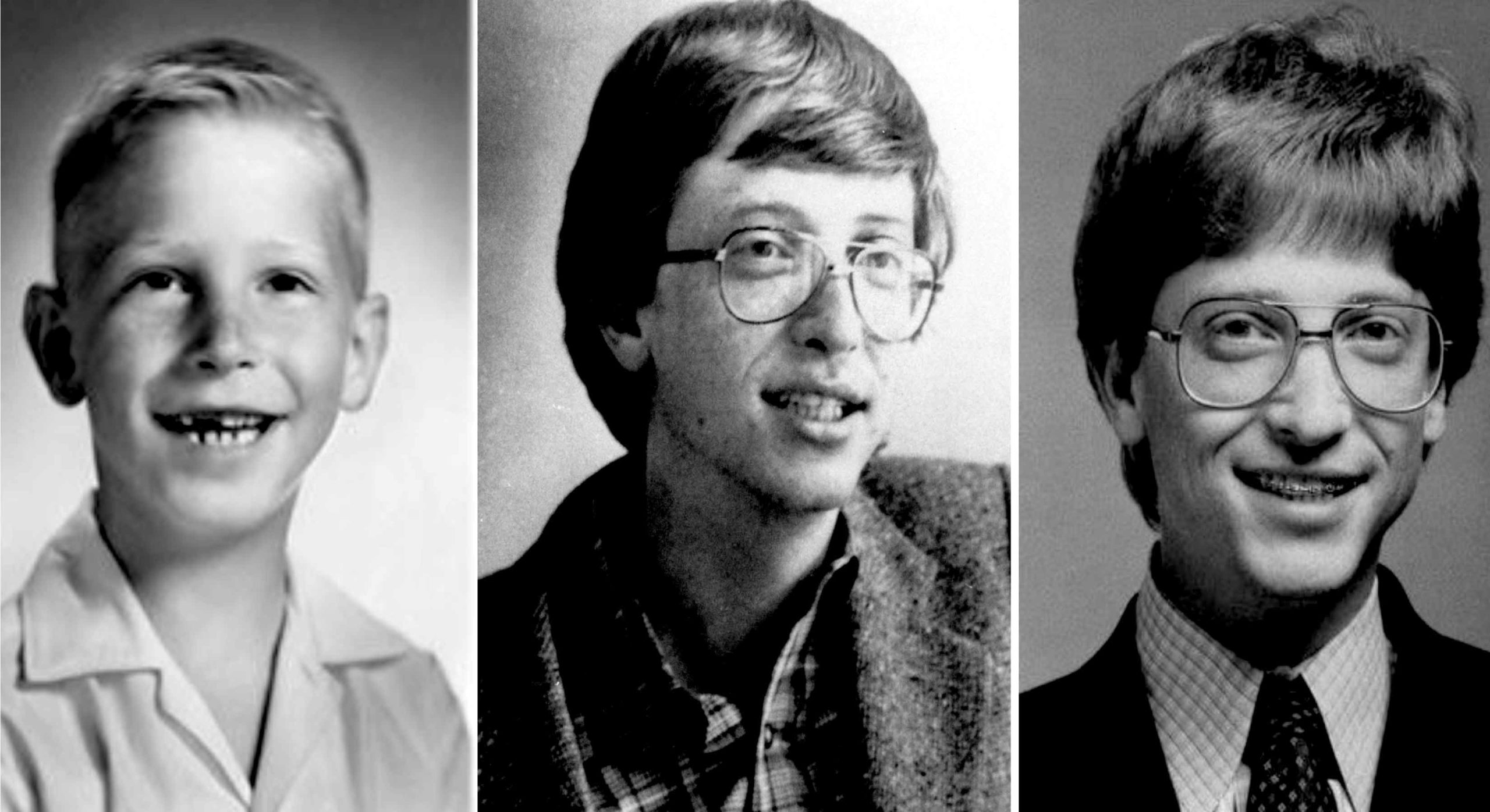 From Childhood To Young Bill Gates