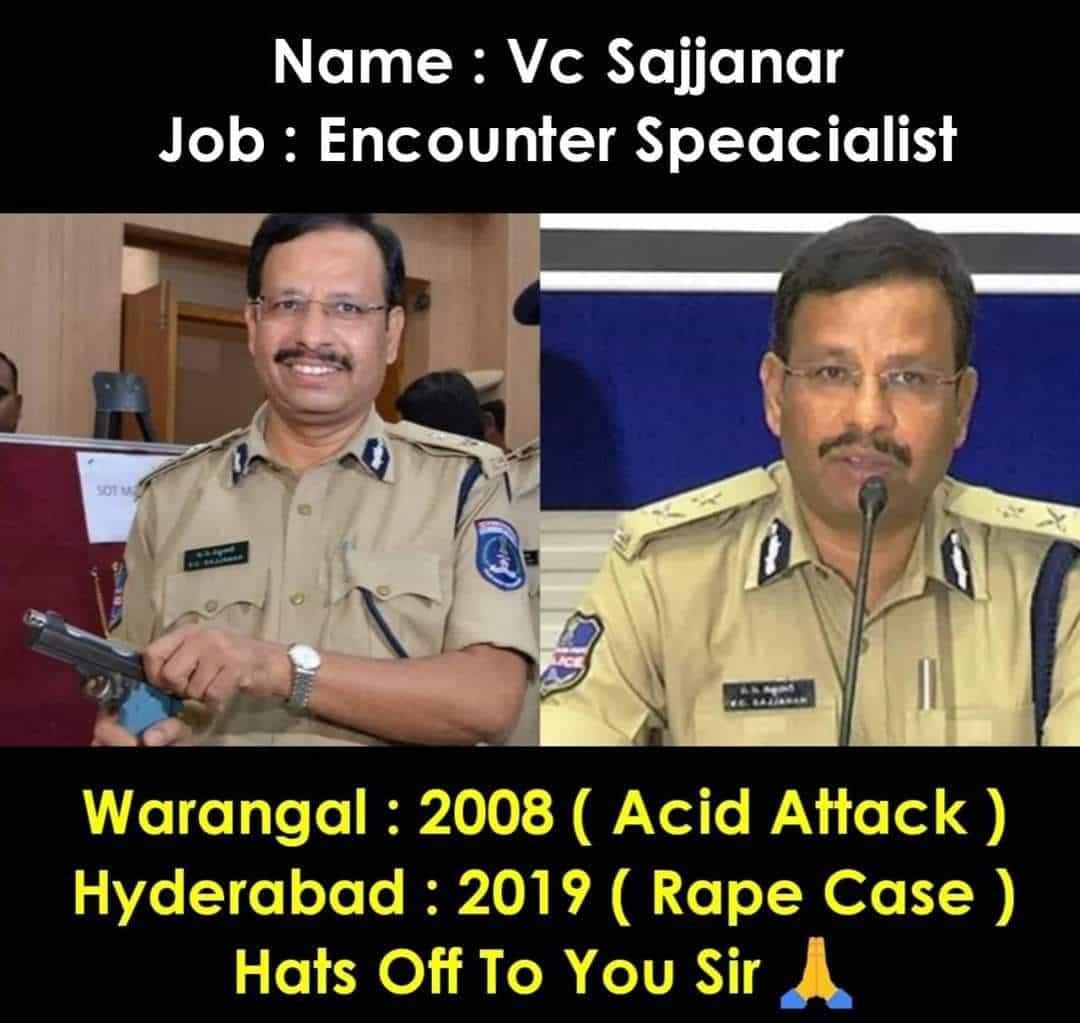 V.C. Sajjanar Wiki - Encounter Specialist